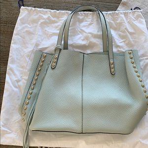 Rebecca Minkoff tote bag light blue